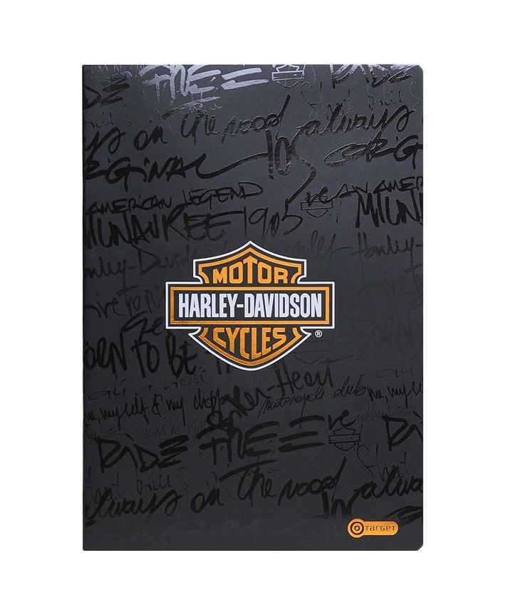 Тетрадь Харли Дэвидсон, 52 листa. 10-169672523WD