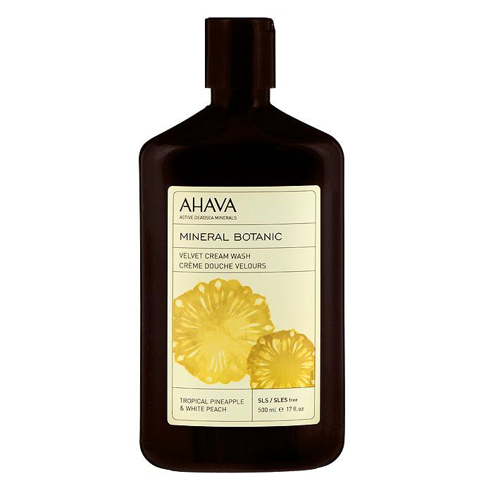 Ahava Крем для душа Тропический ананас. Белый персик, мягкий, 500 мл81123065Крем для душа Ahava Тропический ананас. Белый персик обогащен минералами Мертвого моря, маслом подсолнуха и натуральными растительными экстрактами. Именно эти свойства и более нежная текстура отличают этот крем-мусс от других средств для душа. Восхитительное сочетание тропического ананаса и белого персика, обладающее уникальным увлажняющим и восстанавливающим действием, разглаживает кожу. Содержит комплекс Osmoter TM AHAVA - сбалансированный концентрат минералов Мертвого моря для восстановления гидратации кожи. Товар сертифицирован.