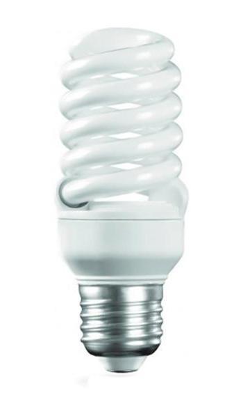 Camelion LH15-FS-T2-M/827/E27 энергосберегающая лампа, 15ВтLH15-FS-T2-M/827/E27Энергосберегающая лампа 15Вт Camelion LH15-FS-T2-M/827/E27, 10596 имеет спиралевидную форму, по которой равномерно распределяется ровный яркий свет. Мощность энергосберегающей лампы в 15 Вт эквивалентна мощности обычной лампы в75 Вт, что поможет значительно сэкономить электроэнергию. Имеет стандартный размер цоколя Е27 и подойдет для всех осветительных приборов, где применяются обычные лампы накаливания.