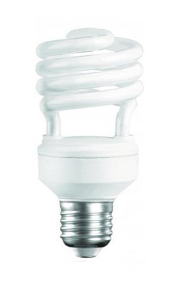 Camelion CF20-AS-T2/827/E27 энергосберегающая лампа, 20ВтCF20-AS-T2/827/E27Энергосберегающая лампа 20Вт Camelion CF20-AS-T2/827/E27, 10621 стабильно работает в широком диапазоне температур -250 С до +400 С. Горит ровным светом и не мерцает. Значительно сэкономит электроэнергию в помещениях, где требуется постоянное освещение. Имеет стандартный размер цоколя, что позволяет использовать лампу во всех осветительных приборах (люстры, торшеры, бра).