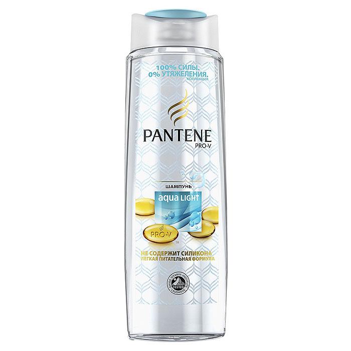 Pantene Pro-V Шампунь Aqua Light, легкий, питательный, 400 млPT-81237792Шампунь Pantene Pro-V Aqua Light придает вашим тонким волосам силу, не утяжеляя их! Улучшенная формула Pantene Pro-V: легкая, питательная, с активными частицами укрепляет тонкие волосы. Питает и укрепляет волосы по всей длине. Не утяжеляет волосы. Не содержит силикона. Концентрация витаминов сертифицирована Швейцарским Институтом Витаминов. Для лучшего результата используйте с бальзамом-ополаскивателем и средствами серии Aqua Light. Товар сертифицирован.