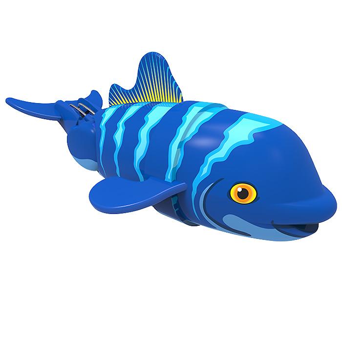 Игрушка для ванны Renwood Рыбка-акробат Санни, цвет: синий, голубой126211-2Игрушка для ванны Renwood Рыбка-акробат понравится вашему малышу и превратит купание в веселую игру. Она выполнена из безопасного пластика в виде маленькой красочной рыбки. Рыбка-акробат умеет плавать и нырять. Траектория движения игрушки зависит от наклона хвоста. Порадуйте вашего ребенка таким замечательным подарком! Игрушка работает от 2 батарей напряжением 1,5V типа ААА (не входят в комплект).