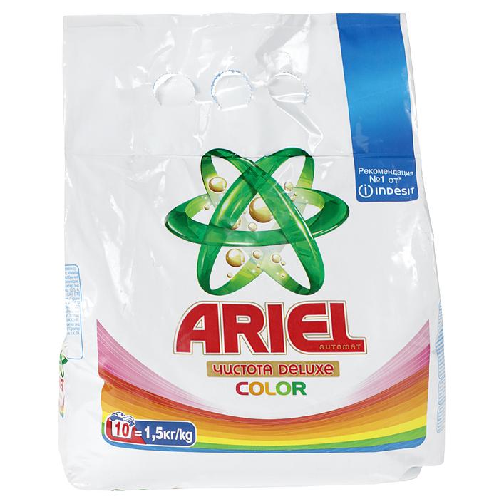 Стиральный порошок Ariel Color & Style, 1,5 кгAS-81490128Стиральный порошок для стирки цветных вещей Ariel Color & Style обеспечивает защиту цвета ткани, при этом великолепно отстирывая даже сложные пятна (например, травы и шоколада). Кроме того, этот порошок бережно относится к ткани, так как он эффективен уже при 30 градусах. Состав: фосфаты, цеолиты, лимонная кислота, позволяющие защитить стиральную машину от накипи. Товар сертифицирован.