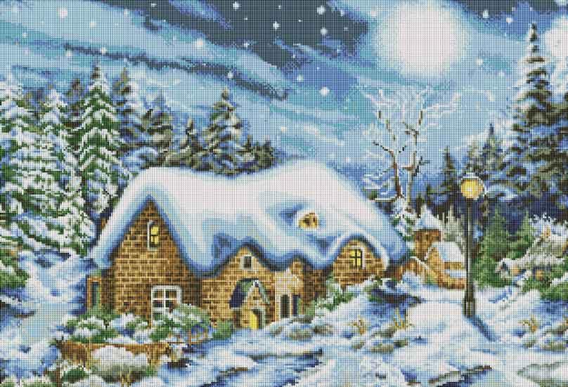 Набор для творчества Мозаика. Январская ночь, 78 х 53 см166-ST Январская ночьНабор для создания мозаичной картины - это новый вид творчества, который поможет создать прекрасное украшение для вашего дома. В наборе имеется канва с нанесенной схемой, покрытая клеевым слоем. С помощью пинцета камушки размещаются на канву. В результате проявляется рисунок. Для создания картины нужно лишь выложить мозаику по схеме на клеевую основу. Вы получите огромное наслаждение от творчества В набор входит: - основа картины со схемой, - комплект мозаики, - пинцет, - контейнер для мозаики.