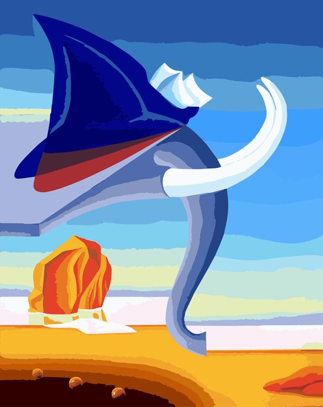 Живопись на холсте Боевой слон, 40 см х 50 см829-AB Боевой слонЖивопись на холсте Боевой слон - это набор для раскрашивания по номерам акриловыми красками на холсте. В набор входят: - холст на подрамнике с нанесенным рисунком, - контрольный лист с нанесенным рисунком, - набор акриловых красок, - кисти, - настенное крепление для готовой картины. Каждая краска имеет свой номер, соответствующий номеру на картинке. Нужно только аккуратно нанести необходимую краску на отмеченный для нее участок. Таким образом, шаг за шагом у вас получится великолепная картина. С помощью серии наборов Живопись на холсте вы можете стать настоящим художником и создателем прекрасных картин. Вы получите истинное удовольствие от погружения в процесс творчества и созданные своими руками картины украсят интерьер вашего дома или станут прекрасным подарком. Техника раскрашивания на холсте по номерам дает возможность легко рисовать даже сложные сюжеты. Прекрасно развивает художественный вкус, аккуратность и внимание. Набор...