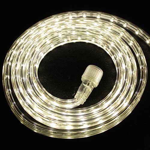 Светодиодная лента Luck&Light, 5 метров, цвет: теплый белый