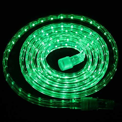 Светодиодная лента Luck&Light, 5 метров, цвет: зеленый