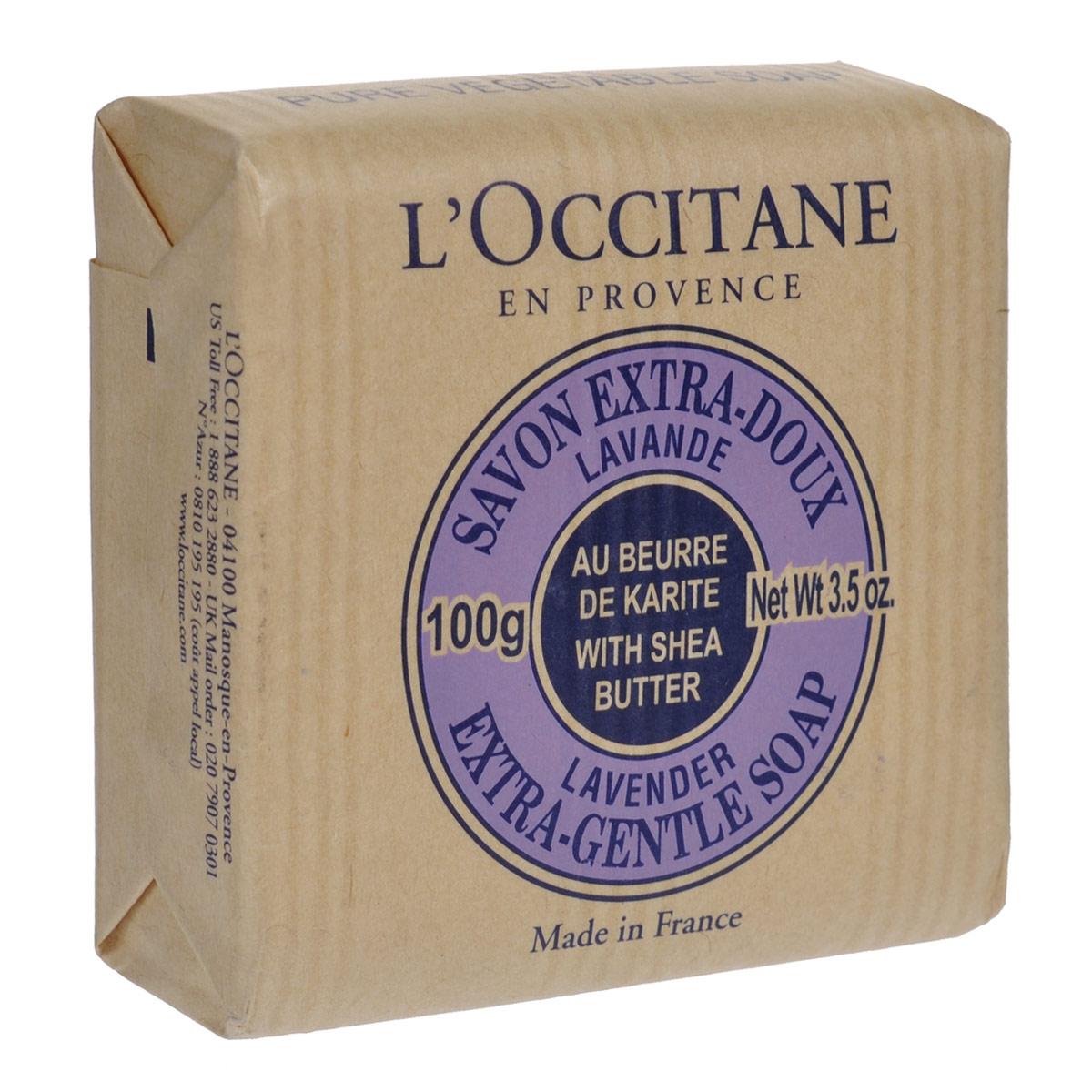 Loccitane Мыло Лаванда, 100 г106Туалетное мыло LOccitane Лаванда великолепно подходит для ежедневного использования. Содержит 100%-ую натуральную основу, обогащен маслом Карите. Подходит для всей семьи.