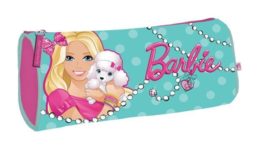 Пенал, размер 21 х 9 х 5 см, BarbieBRAP-MT1-430Пенал. Размер 21 х 9 х 5 см, Barbie Цвет: голубой. Тип: Мягкий пенал. Пол: Для девочек . Возраст: Младшие классы . Форма: Овал. Материал: Полиэстер, . Размер: 210х90х50 мм.