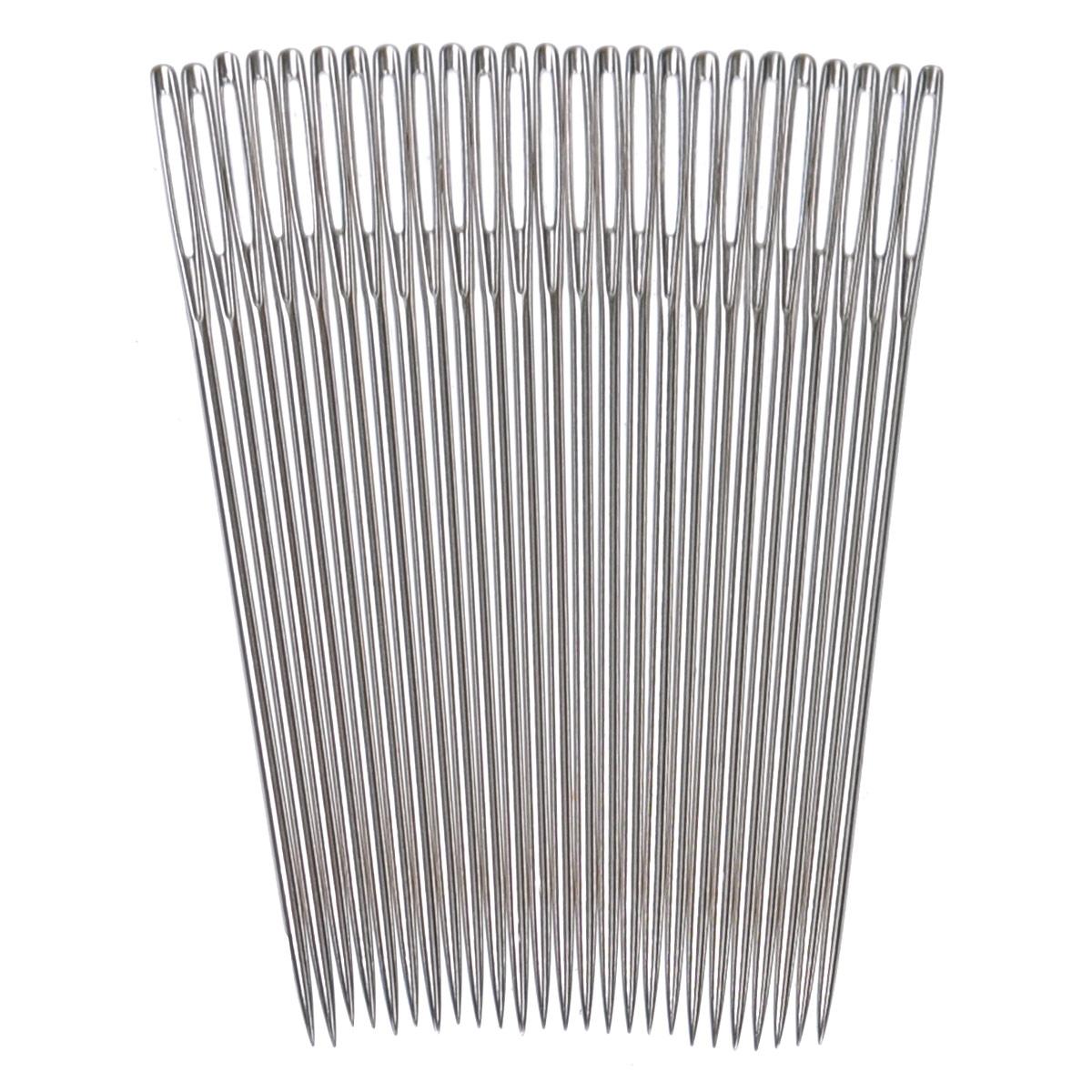 Иглы ручные Prym, для вышивки с острием, №18, 25 шт124133Ручные иглы Prym, изготовленные из стали, предназначены для вышивки по ткани. Иглы имеют острие и ушко.