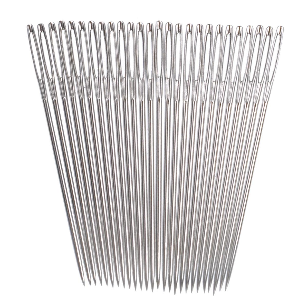 Иглы ручные Prym, для вышивки с острием, №20, 25 шт124135Ручные иглы Prym, изготовленные из стали, предназначены для вышивки по ткани. Иглы имеют острие и ушко.