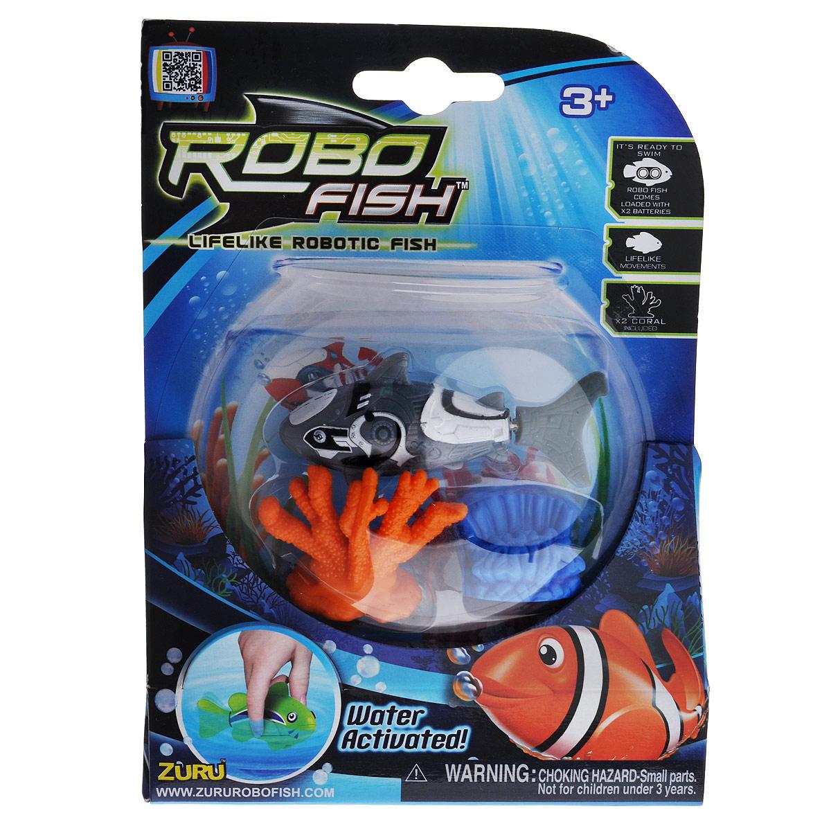 Игрушка для ванны Robofish