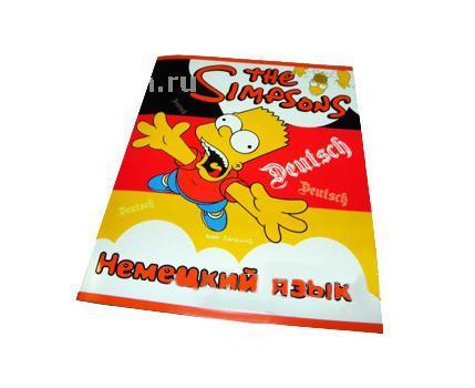 Тетрадь Proff Немецкий язык. серия The Simpsons50СБ5цB1_03505