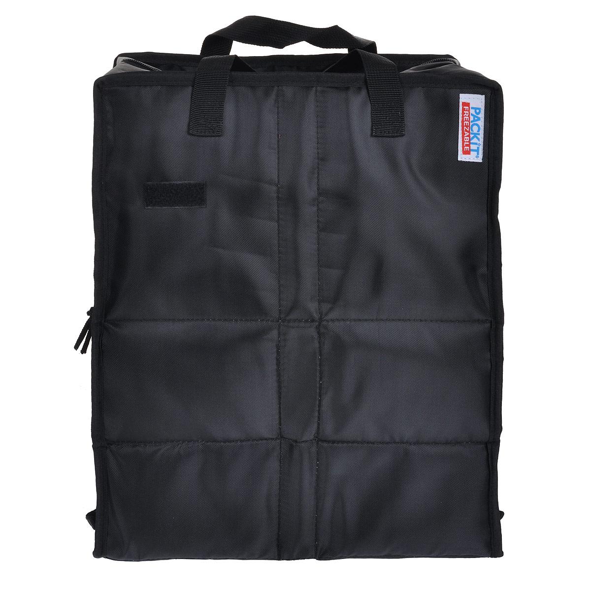 Сумка хозяйственная PACKIT Shop Cooler, изотермическая, цвет: черный. PKT-SH-BLAPKT-SH-BLA