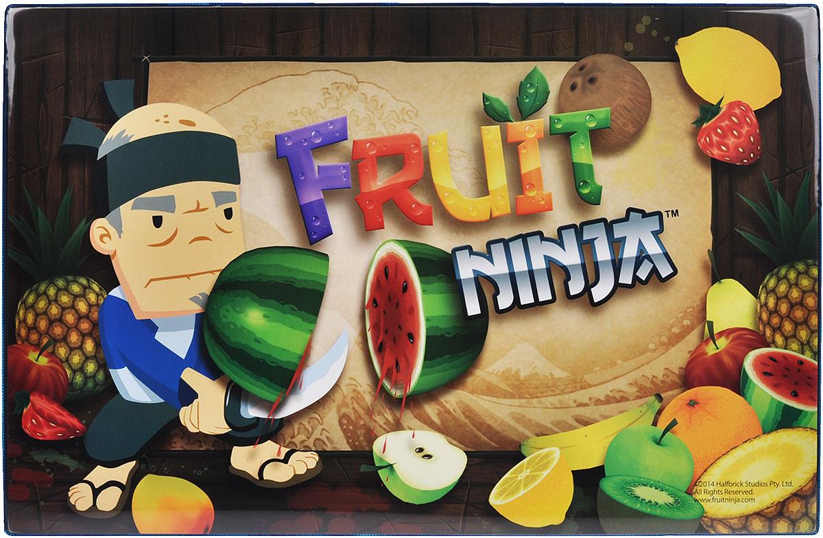 Накладка на стол Action! Fruit Ninja, 58 см х 38 смFN-ST3Накладка на стол Action! Fruit Ninja представляет собой прямоугольное настольное покрытие формата А3 с закругленными уголками, выполненное из плотного ПВХ и оформленное изображением Фруктового Ниндзя. Такая накладка послужит не только украшением стола, но и защитит его от различных загрязнений при детском творчестве. Яркий рисунок обязательно понравится вашему ребенку.