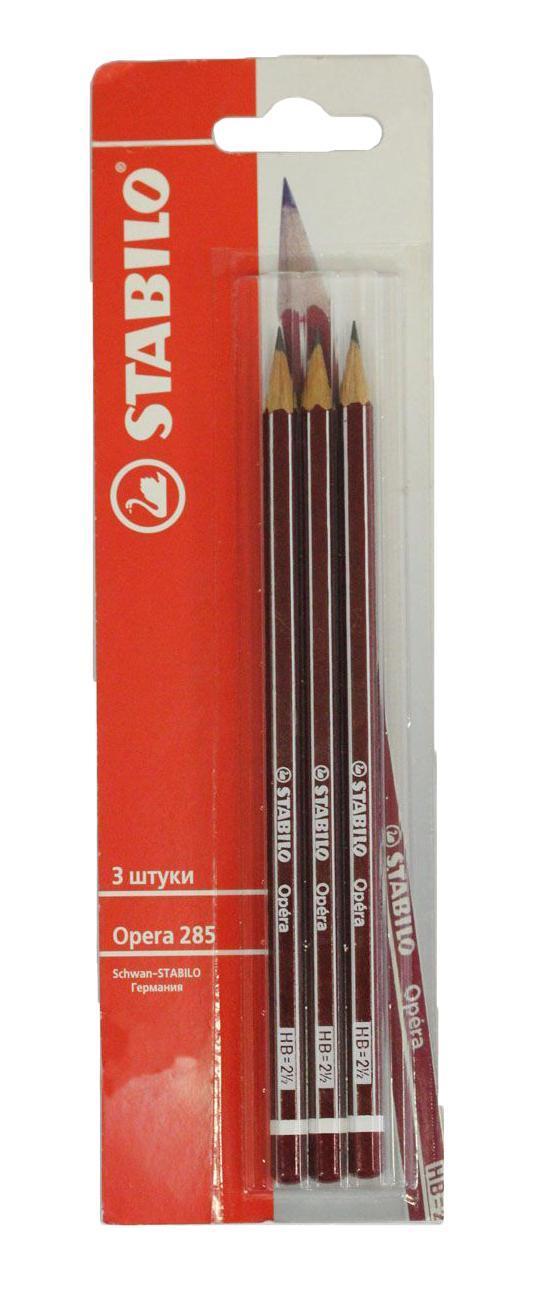 Набор чернографитных карандашей Stabilo