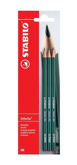 Набор чернографитных карандашей Stabilo Othello, твердость: НВ, 3 шт282/HB-3BОсобо прочный и экономичный карандаш самого высокого качества. Легко и аккуратно затачивается. Грифель из высококачественного мелкодисперсного графита благодаря особой технологии обработки даже при падении и ударе не ломается. Многослойное лаковое покрытие обеспечивает идеальный внешний вид карандаша на протяжении всего срока службы.