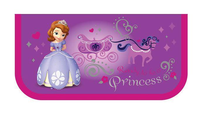 Пенал Принцесса София тип А, без наполнения34997пенал тип А б/н. односекционный пенал без наполнения. Материал- сертифицированный полиэстр. Внутреннее покрытие- картон проклеенныйбезопасным моющимся материалом.