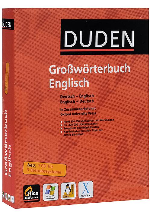Grossworterbuch Englisch