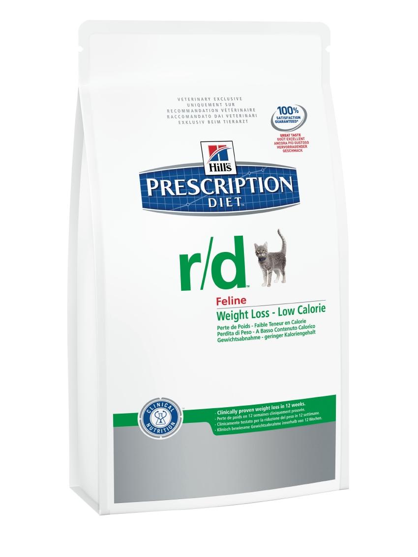 Корм сухой диетический Hills R/D для кошек, для снижения избыточного веса, с курицей, 300 г5485Сухой корм для кошек Hills R/D - полноценный диетический рацион с пониженной энергетической ценностью для кошек. Разработан специально для снижения избыточного веса. Рацион с низким содержанием жира и повышенным содержанием клетчатки, дополнен L-карнитином для правильного снижения веса за счет уменьшения жировых отложений при сохранении мышечной ткани. - Превосходный вкус понравится вашей кошке. - Супер антиоксидантная формула повышает устойчивость клеток организма к воздействию свободных радикалов. Рекомендации по кормлению: рекомендуемая норма рассчитана на основании идеального веса для вашей кошки. Корректировка приведенных значений и режим кормления - в соответствии с рекомендациями ветеринарного врача. Рекомендуемая продолжительность диетотерапии: до момента достижения идеального веса. Обеспечьте питомца постоянным свободным доступом к свежей воде. Состав: мясо и пептиды животного происхождения, зерновые злаки, экстракты растительного...