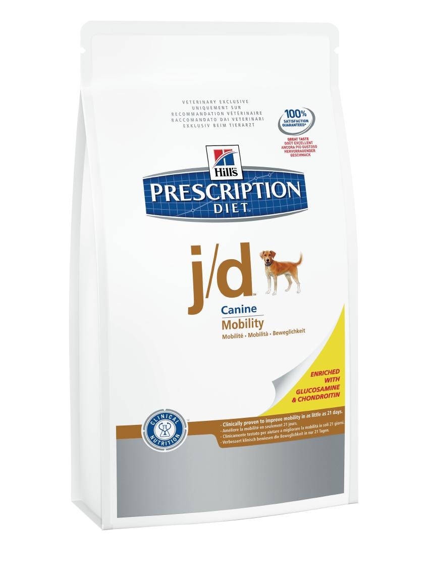 Корм сухой диетический Hills J/D для собак, для лечения заболеваний суставов, 5 кг4523Сухой корм для собак Hills J/D - полноценный диетический рацион для поддержания обменных процессов в хрящевой ткани при воспалении суставов у взрослых собак. Диетический рацион с высоким содержанием ЕРА (эйкозапентаеновой кислоты), общего комплекса Омега-3 жирных кислот и витамина Е. Лечение с помощью корма Hills J/D подарит вашей собаке свободу движений, ограничивая дегенерацию и поддерживая целостность суставного хряща. - Отличается высоким содержанием Глюкозамина и Хондроитина сульфата натурального происхождения, которые необходимы для формирования суставного хряща. - Превосходный вкус понравится вашей собаке. Монодиета. Не требует дополнений. Рекомендуемая продолжительность диетотерапии: первоначально до 3 месяцев. Состав: зерновые злаки, семена, мясо и пептиды животного происхождения, экстракты растительного белка, производные растительного происхождения, масла и жиры, минералы, яйцо и его производные, моллюски и рачки. ...