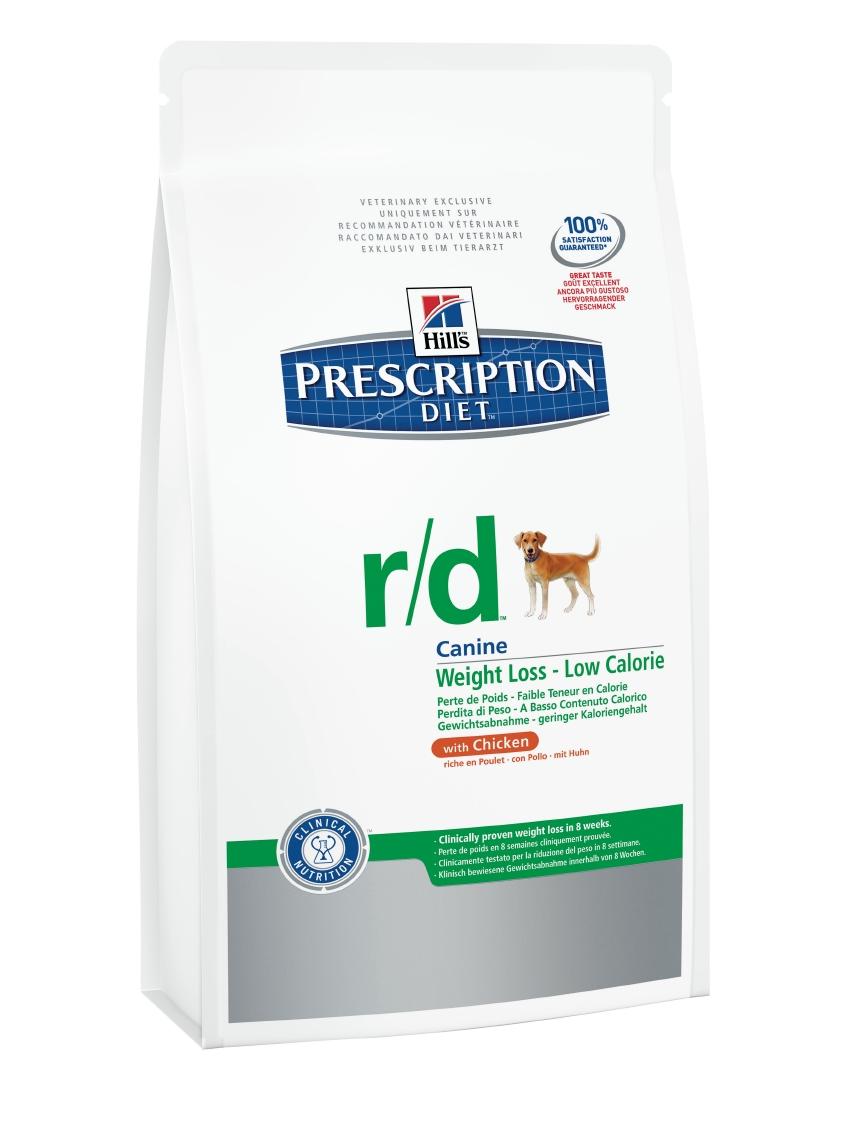 Корм сухой диетический Hills R/D для собак, для снижения избыточного веса, с курицей, 4 кг6654Сухой корм для собак Hills R/D - полноценный диетический рацион с пониженной энергетической ценностью для собак. Разработан специально для снижения избыточного веса. Клинически доказано уменьшение жировых отложений в организме на 22% всего за 2 месяца. Специальная формула диетического рациона обеспечивает продолжительное чувство сытости. - Превосходный вкус понравится вашей собаке. - Супер Антиоксидантная формула повышает устойчивость клеток организма к воздействию свободных радикалов. Рекомендации по кормлению: рекомендуемая норма рассчитана на основании идеального веса для вашей собаки. Корректировка приведенных значений и режим кормления - в соответствии с рекомендациями ветеринарного врача. Рекомендуемая продолжительность диетотерапии: до момента достижения идеального веса. Обеспечьте питомца постоянным свободным доступом к свежей воде. Состав: мясо и пептиды животного происхождения, зерновые злаки, экстракты растительного белка,...