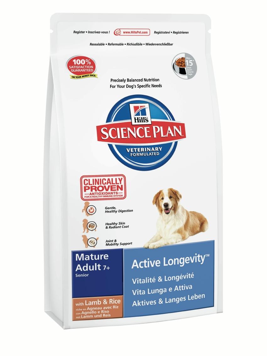 Корм сухой Hills Active Longevity для стареющих и пожилых собак средних пород, с ягненком и рисом, 12 кг9273Корм сухой Hills предназначен для стареющих и пожилых собак средних пород. Разработан для легкого пищеварения и поддержания подвижности в суставах. С антиоксидантами с клинически подтвержденным эффектом и легко усваиваемым ягненком. Ключевые преимущества: Ягненок высокого качества для легкого пищеварения. Обогащен Омега-3 и Омега-6 жирными кислотами для здоровья кожи и шерсти. Великолепный вкус и ингредиенты высокого качества. 100% гарантия качества, консистенции и вкуса. Состав: ягненок и рис (минимум 19% мяса ягненка, минимум 4% риса), молотая кукуруза, мука из мяса ягненка, соевая мука, животный жир, молотый рис, сухая свекольная пульпа, гидролизат белка, растительное масло, семя льна, калия хлорид, L-лизина гидрохлорид, DL-метионин, соль, L-треонин, L-триптофан, таурин, витамины и микроэлементы. Содержит натуральные консерванты - смесь токоферолов, лимонную кислоту и экстракт розмарина. Среднее содержание нутриентов в рационе:...