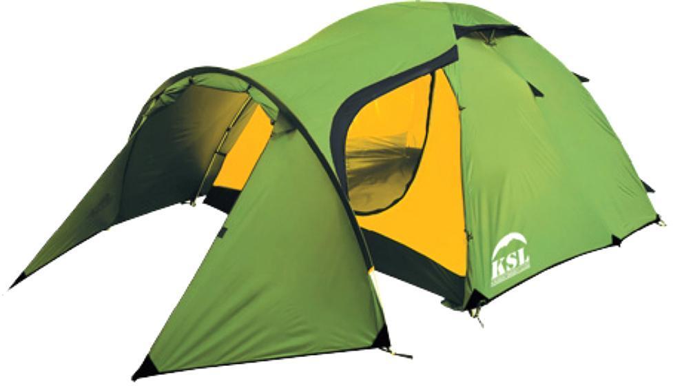 Палатка KSL Cherokee 36122.3401Трехместная палатка CHEROKEE 3 от KSL предназначена для туристических путешествий в летнее, весеннее или осеннее время. Палатка состоит из внешнего и внутреннего тента, которые крепятся к каркасам из дюраполовых дуг. Тент изготавливается из прочной ткани с высококачественной водоотталкивающей и огнеупорной пропиткой. Дно модели также отличается хорошей водонепроницаемостью, поэтому в палатке можно отдыхать с комфортом и в сырую погоду. Палатка CHEROKEE 3 относится к моделям со средним классом устойчивости к ветру и дождю, однако способна выдерживать довольно значительные порывы ветра и проливной ливень. Внутренняя палатка состоит из одной комнаты, которая хорошо вентилируется благодаря наличию 2-х вентиляционных окон, имеющих ветровые клапаны. Три входа обеспечивают удобство пользования. В комплекте идут две москитные сетки, защищающие от насекомых и позволяющие вам спокойно наслаждаться притоком свежего воздуха в ночное время, не боясь быть искусанными назойливыми комарами....