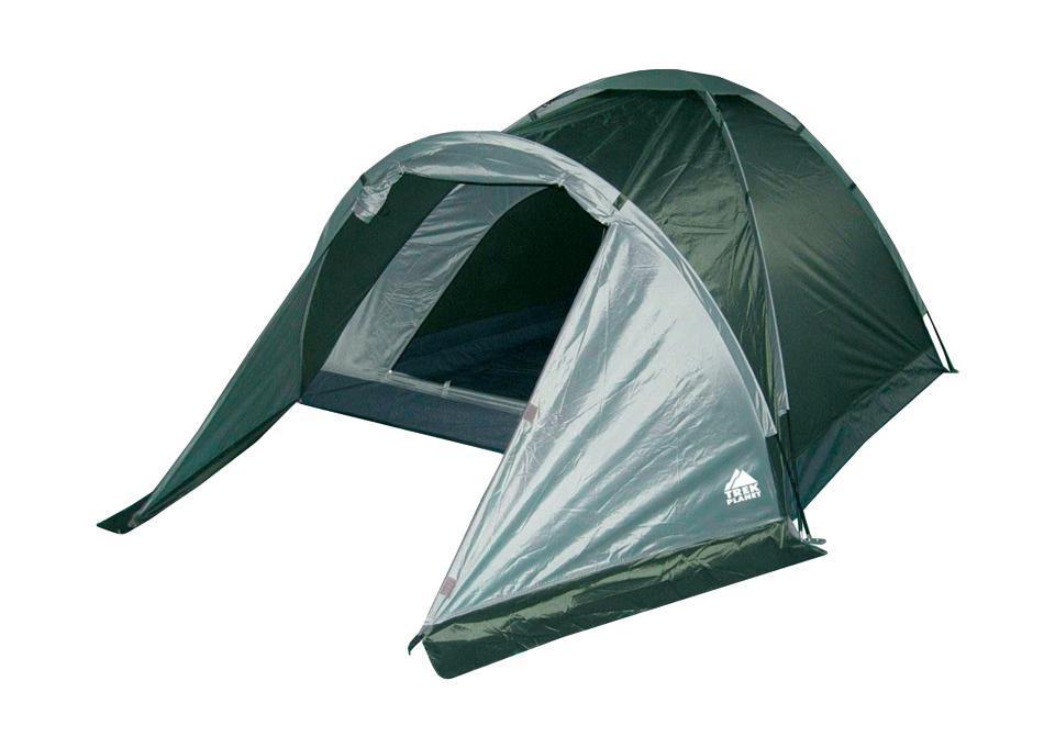 Палатка двухместная Trek Planet Toronto 2, цвет: темно-зеленый, оливковый70130Однослойная двухместная палатка с тамбуром Trek Planet Toronto 2, самая легкая и быстрая в установке палатка. Особенности модели: Палатка легко и быстро устанавливается, Палатка оснащена вместительным и защищенным от непогоды тамбуром, Тент палатки из полиэстера, с пропиткой PU водостойкостью 1000 мм, надежно защитит от дождя и ветра, Все швы проклеены, Каркас выполнен из прочного стекловолокна, Дно изготовлено из прочного армированного полиэтилена, Вентиляционное окно сверху палатки не дает скапливаться конденсату на стенках палатки. Москитная сетка на входе в спальное отделение в полный размер двери, Внутренние карманы для мелочей, Крючки для крепления к земле в комплекте Возможность подвески фонаря в палатке. Палатка упакована в сумку-чехол с ручками, застегивающуюся на застежку-молнию. Размер в сложенном виде: 12 см х 12 см х 63 см.