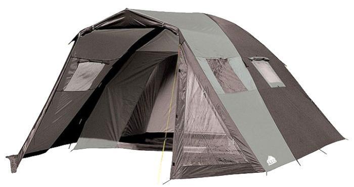 Палатка пятиместная TREK PLANET Dahab Air 5, цвет: , серый70236Пятиместная двухслойная классическая палатка TREK PLANET Dahab Air 5 с вместительным светлым тамбуром, обзорными окнами и двумя входами во внутреннюю палатку с противоположных сторон. Особенности модели: - Размер внутренней палатки: 310 см х 210 см х 185 см; - Тент палатки из полиэстера с пропиткой PU надежно защищает от дождя и ветра; - Все швы проклеены; - Высокий, вместительный и светлый тамбур; - Обзорное окно со шторкой во внутреннем помещении; - Дополнительные вентиляционные окна в тамбуре, защищенные москитными сетками; - Дно из прочного водонепроницаемого армированного полиэтилена позволяет устанавливать палатку на жесткой траве, песчаной поверхности, глине и т.д; - Дуги из прочного стеклопластика; - Внутренняя палатка из дышащего полиэстера, обеспечивает вентиляцию помещения и позволяет конденсату испаряться, не проникая внутрь палатки; - Два входа во внутреннюю палатку с противоположных сторон; -...