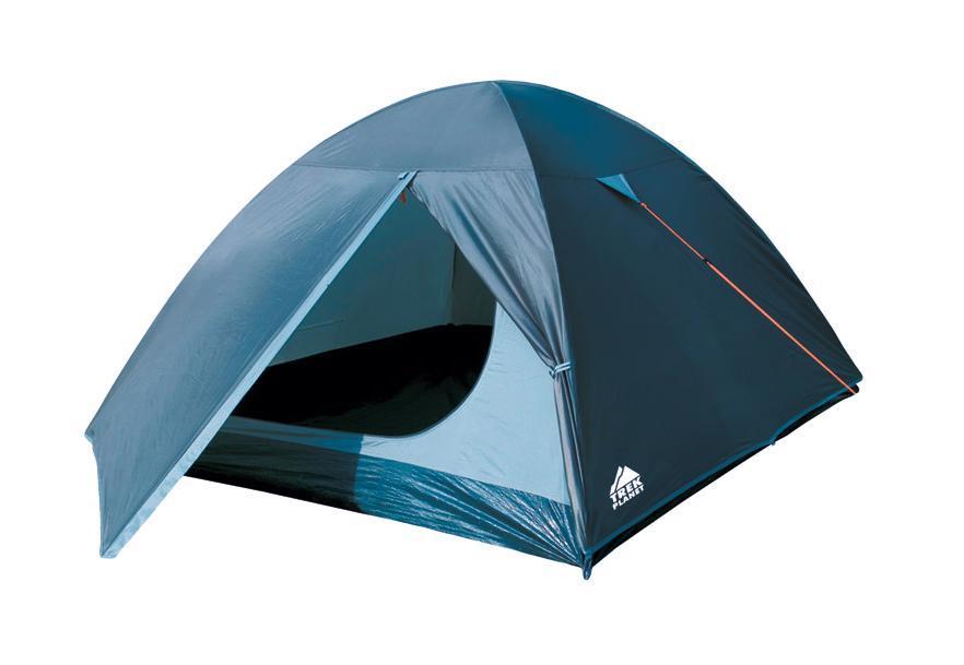 Палатка трехместная Trek Planet Oregon 3, цвет: синий, светло-синий70156Трехместная палатка с удобным тамбуром Trek Planet Oregon 3 - самая доступная по цене среди двухслойным палаток. Особенности модели: Палатка легко и быстро устанавливается, Тент палатки из полиэстера, с пропиткой PU водостойкостью 2000 мм, надежно защитит от дождя и ветра, Все швы проклеены, Внутренняя палатка, выполненная из дышащего полиэстера, обеспечивает вентиляцию помещения и позволяет конденсату испаряться, не проникая внутрь палатки, Москитная сетка на входе в спальное отделение в полный размер двери, Вентиляционный клапан, Каркас выполнен из прочного стеклопластика, Дно изготовлено из прочного армированного полиэтилена, Внутренние карманы для мелочей, Возможность подвески фонаря в палатке. Палатка упакована в сумку-чехол с ручками, застегивающуюся на застежку-молнию. Размер спального места: 210 см х 200 см. Размер в сложенном виде: 53 см х 14 см х 14 см.