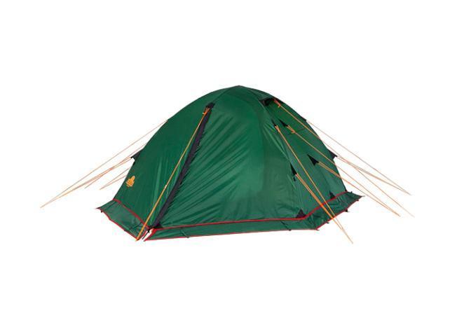 Палатка Alexika Rondo 2 Plus Green9123.2901Трекинговая палатка RONDO 2 Plus - удобная классическая модель стандартной формы, которую вы сможете установить за максимально короткий промежуток времени. Данная палатка устойчива и надежна, ее конструкция поддерживается при помощи легких, но достаточно прочных алюминиевых дуг, предотвращающих возможное провисание тента. Отличается от Rondo 2 наличием юбки по периметру, которая предохраняет внутреннее пространство в условиях непогоды и сильного ветра. Непромокаемое внешнее покрытие палатки производится из тентованного полотна Polyester, а дно выполняется из очень плотной прорезиненной ткани. Палатка RONDO 2 Plus предназначена для комфортного отдыха двух туристов, хотя в ее внутреннем пространстве при необходимости без труда могут поместиться и три человека. Главное преимущество палатки RONDO 2 Plus - наличие двух вместительных тамбуров, где туристы могут оставить свои рюкзаки. Данная модель также характеризуется двумя раздельными входами, чтобы туристы, покидающие палатку...