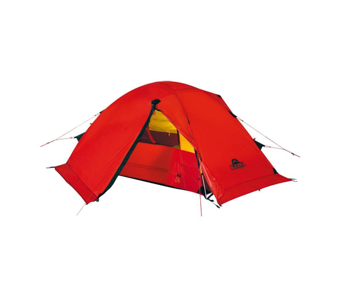 Палатка Alexika Storm 2 Red9115.2103Легкая экспедиционная палатка с двумя тамбурами предназначена для организации высокогорных лагерей, восхождений и эксплуатации в сложных погодных условиях. Обладает высокой ветроустойчивостью, длительное время способна выдерживать сильный дождь и снегопад. Вес: 3,8 кг. Количество мест: 2. Сезонность: зима. Размер: 240 x 215 x 90 см. Размер в чехле: 18 x 52 см. Материал тента: Nylon 30D 250T RipStop Silicon 3000 mm. Материал дна: Polyester 150D Oxford PU 6000 mm. Внутренняя палатка: есть. Материал дуг: Alu 8.5 mm. Ветроустойчивость: очень высокая. Количество входов: 2. Цвет: красный. Область применения: экстрим. Технологии: Пропитка, задерживающая распространение огня. Швы герметизированы термоусадочной лентой. Тент устойчив к ультрафиолету. Узлы палатки, испытывающие высокие нагрузки, усилены более прочной тканью. Край тента обшит прочной стропой. Молнии на внешнем...
