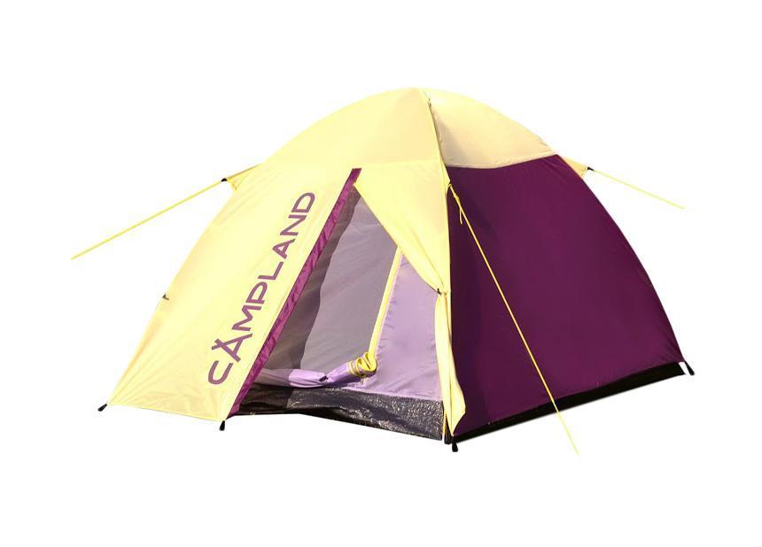 Палатка Campland Locust 2 Violet-Yellow