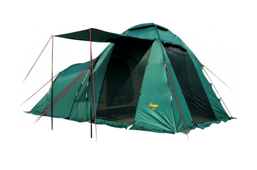 Палатка CANADIAN CAMPER HYPPO 4 (цвет woodland)30400013Кемпинговая палатка Canadian Camper Hyppo 4 – одна из самых популярных моделей, которую выбирают современные путешественники. Эта вместительная и просторная палатка легко устанавливается, она отлично подходит для жаркой и прохладной погоды. Палатку известного канадского бренда отличает особенная продуманная конструкция, высокое качество материалов и исполнения. Особенности палатки для кемпинга Canadian Camper Hyppo 4: Палатка предназначена для кемпинговых лагерей, в ней легко могут отдыхать четыре человека; Вес палатки составляет 8,7 кг, это совсем немного для кемпинговой палатки; У палатки Канадиан Кэмпер Хиппо 4 есть одна спальня с низким потолком, а также высокий тамбур, оборудованный тремя входами; Все входы и окна защищены антимоскитными сетками, защищающими от насекомых; Хорошую вентиляцию обеспечивают верхнее вентиляционное окно и дополнительное окно в спальном отделении. Двери можно оставлять открытыми, оставив только сетки, чтобы сохранить прохладу в жаркую погоду; ...