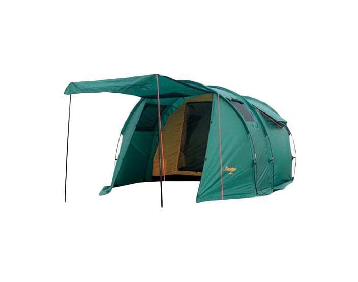 Палатка CANADIAN CAMPER TANGA 3 (цвет woodland)30300011Туристическая палатка Canadian Camper Tanga 3 состоит из двух частей - внешнего тента и внутренней палатки. Каркас из стекловолокна располагается снаружи внешнего тента. У палатки Canadian Camper Tanga 3 два входа, один из них ведет в большой тамбур, а один расположен с задней стороны палатки. Передняя дверь превращается в козырек и делает палатку Canadian Camper Tanga 3 ещё уютнее. Входы и огромные окна палатки защищены антимоскитными сетками. Процесс установки палатки Tanga 3 очень простой. Эта большая, просторная, высокая палатка очень удобна для использования в качестве кемпинговой для компании из двух-трех человек.