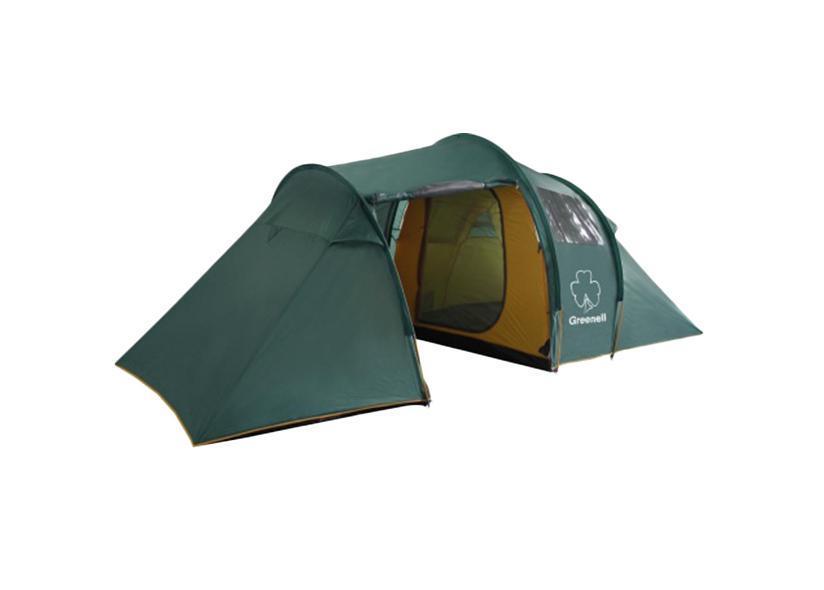 Палатка Greenell Арди 4/5 Green25593-303-00Большая кемпинговая палатка Greenell Арди 4/5 конструкции полубочка. Прозрачные окна. Антикомариная система (юбка и сетка в тамбуре). Различные варианты конфигурации (2+2+3). Два входа, две комнаты, большой тамбур. Проточная вентиляция. Возможна установка тента без внутренних палаток. Особенности конструкции: Карманы Прозрачные окна Проклеенные швы Ветрозащитная юбка Противомоскитная сетка