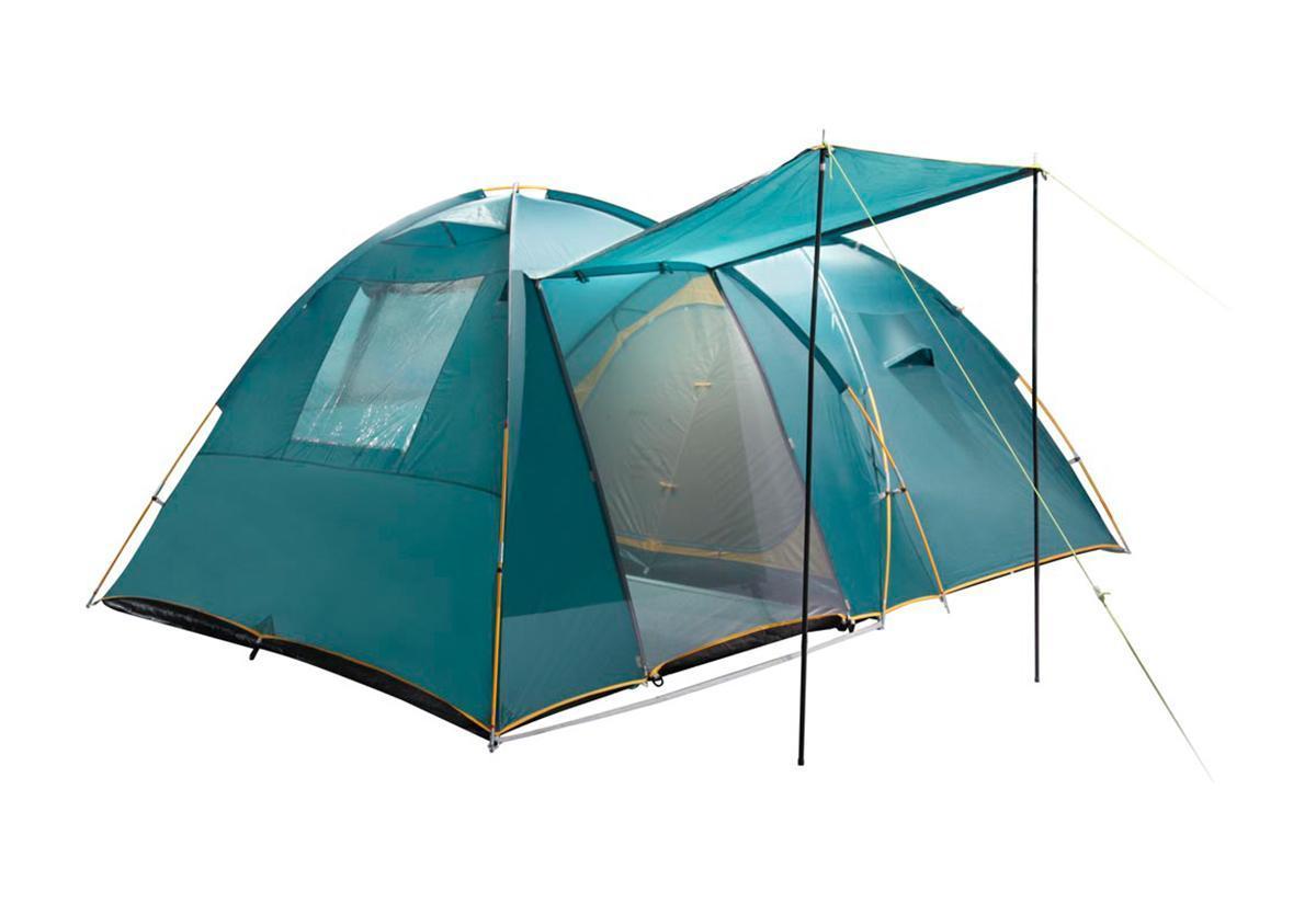 Палатка Greenell Трим 4 Green25523-303-00Большую кемпинговую палатку Greenell Трим 4 можно использовать без растяжек. Имеет два входа и один большой тамбур. Особенности конструкции: Проклеенные швы тента Противомоскитная сетка Карманы Ветрозащитная юбка Прозрачные окна Характеристики: Вместимость: 4 человека. Размер палатки в разложенном виде (ДхШхВ): 420 см х 290 см х 170 см. Наружный тент: Poly Taffeta 190T PU 3000 мм. Материал дна: Tarpauling. Материал палатки: Polyester 190T дышащий. Каркас: дуги из фибергласса диаметром 11 мм, 16 мм. Вес: 12300 г. Размер в сложенном виде: 68 см х 47 см х 23 см. Изготовитель: Китай. Артикул: 25523-303-00.