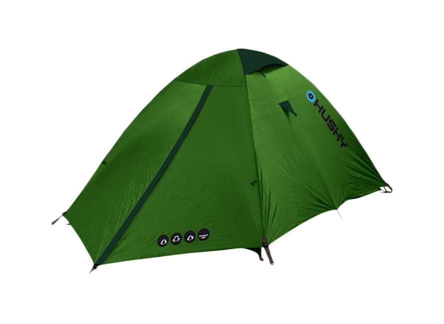Палатка Husky Bret 2 Light Green, цвет: светло-зеленый