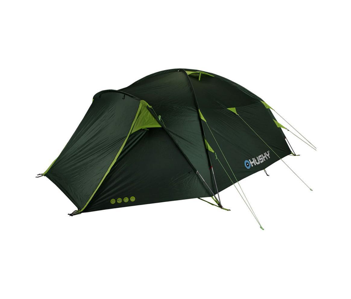 Палатка Husky Brozer 5 Dark Green, цвет: темно-зеленыйУТ-000056261Палатка BROZER 5 - двухслойная однокомнатная палатка с двумя входами и тамбурами с внутренним расположением дуг. Швы проваренны специальной лентой. Внутренняя палатка оснащена противомоскитной сеткой. Новинка 2013 года в серии HUSKY FAMILY RANGE. Простота установки, возможность установки одного тента без спальной комнаты, большой вестибюль. Пригодна как для начинающих туристов, так и для кемпинга, рыбалки. Аксессуары: комплект стальных колышков, ремонтный набор, упаковочная сумка