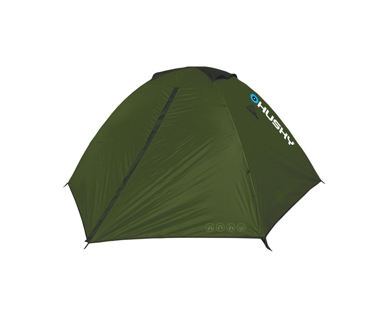 ... цвет: зеленый палатка husky bigless 5 dark green