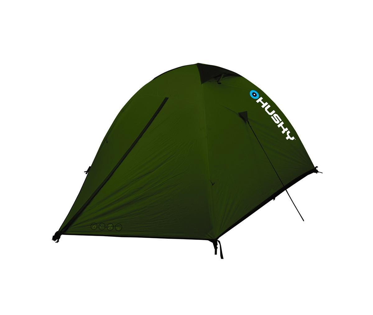 Палатка Husky Sawaj 3 Green, цвет: зеленыйУТ-000052272Двухслойная палатка Sawaj 3 отлично подойдет для путешествий и кемпинга. Палатка рассчитана на трех человек. В палатке имеются два входа и один тамбур. Пригодна для велосипедного туризма, скалолазания, пешего туризма. В комплекте дюралюминиевые колышки, набор для ремонта, компрессионный мешок, карман-сетка. Палатка упакована в чехол с удобной ручкой для переноски.