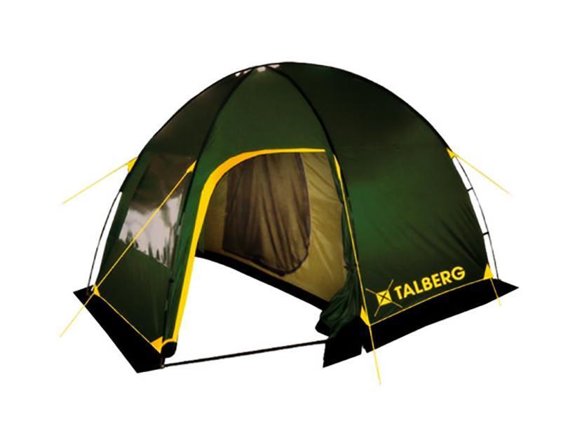 Палатка Talberg Bigless 4УТ-000046912Семейная кемпинговая палатка Talberg Bigless 4 предназначена для пешего туризма и кемпинга. Внутренняя палатка выполнена из полиэстера, швы наружного тента проклеены. 2 палатки (внешняя и внутренняя). Количество входов внешней палатки: 2 с москитной сеткой 1 навес без сетки. Количество входов внутренней палатки: 1 с москитной сеткой. Внешняя палатка имеет 1 вентиляционный клапан с москитной сеткой. Внутренняя палатка для вентиляции имеет вставку из москитной сетки в верхней части задней стенки. Съемный пол для тамбура (терпаулинг). Набор колышков и растяжек. Вы несомненно оцените скорость, с которой может быть установлена эта палатка. Идеально подходит для четырех туристов. Палатка упакована в сумку-чехол с ручками. Характеристики: Количество мест: 4. Размер палатки: 360 см х 250 см х 200 см. Спальная комната: 220 см х 250 см. Материал внешнего тента: полиэстер 190T/75D 4000 mm. ...