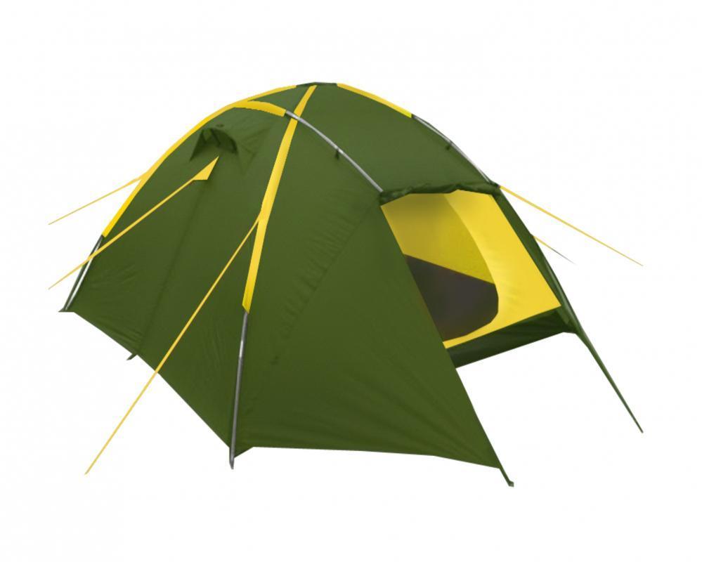 Палатка Talberg Trapper 3УТ-000057281TRAPPER 3 арт TLT-041 Лёгкая двухслойная палатка Фирма – изготовитель: «Talberg» (Германия) Страна – производитель: Китай Тент: Polyester RipStop 190T/80D 5000 мм Дно: Polyester 195T/80D 7000 мм Внутренняя палатка: дышащий Polyester Дуги: HQ FiberGlass 8,5 мм Количество входов: 2 Количество мест: 3 Вес: 4,5 кг Размеры внутренней палатки: 205 x 210 x 120 см Размеры габаритные: 405 x 220 x 130 см Сезонность: весна-лето-осень
