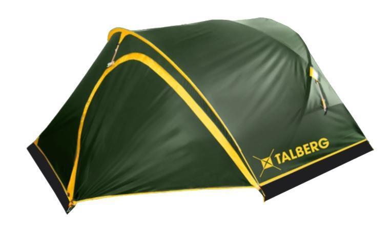 Палатка Talberg Sund Pro 2УТ-000053281Легкая двухслойная палатка Talberg Sund Pro 2 с большим и малым тамбурами и внутренним расположением дуг, идеальна для велосипедистов. У палатки два тамбура с разных сторон. В каждый из них по одному входу и из каждого - по одному входу в спальную комнату. Палатка оснащена юбкой, двери дублированы москитной сеткой. Внутренняя палатка выполнена из дышащего полиэстера, швы наружного тента проклеены. Вы несомненно оцените скорость, с которой может быть установлена эта палатка. Идеально подходит для двух туристов. Палатка упакована в сумку-чехол на застежке-молнии. Также прилагается инструкция по сборке палатки.