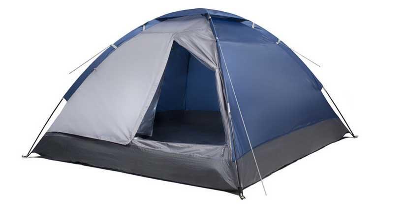 Палатка четырехместная Trek Planet Lite Dome 4, цвет: синий, серый70124Однослойная четырехместная палатка Trek Planet Lite Dome 4, самая легкая и быстрая в установке. Особенности модели: Простая и быстрая установка, Тент палатки из полиэстера, с пропиткой PU водостойкостью 1000 мм, надежно защитит от дождя и ветра, Все швы проклеены, Каркас выполнен из прочного стекловолокна, Дно изготовлено из прочного армированного полиэтилена, Москитная сетка на входе в палатку в полный размер двери, Вентиляционное окно сверху палатки не дает скапливаться конденсату на стенках палатки, Внутренние карманы для мелочей, Возможность подвески фонаря в палатке. Для удобства транспортировки и хранения предусмотрен чехол с двумя ручками, закрывающийся на застежку-молнию. Размер спального места: 240 см х 205 см.