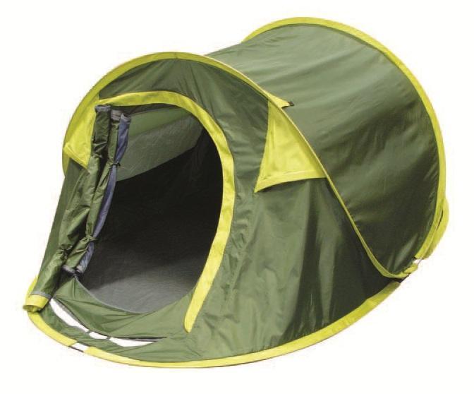 Палатка двухместная Trek Planet Moment Plus 2, цвет: темно-зеленый, светло-зеленый70146Двухслойная двухместная палатка Trek Planet Moment Plus 2, мгновенно устанавливается! Особенности модели: Мгновенная установка; Тент палатки из полиэстера, с пропиткой PU водостойкостью 1000 мм, надежно защитит от дождя и ветра; Все швы проклеены; Внутренняя палатка, выполненная из дышащего полиэстера, обеспечивает вентиляцию помещения и позволяет конденсату испаряться, не проникая внутрь палатки; Москитная сетка на входе в спальное отделение в полный размер двери; Каркас выполнен из прочного стекловолокна; Дно изготовлено из прочного армированного полиэтилена; Вентиляционное клапана по периметру палатки не дают скапливаться конденсату на стенках палатки; Внутренние карманы для мелочей; Для удобства транспортировки и хранения предусмотрен чехол с двумя ручками, закрывающийся на застежку-молнию. Размер в сложенном виде: 80 см х 20 см х 10 см.