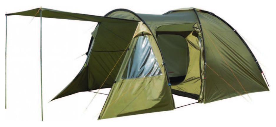Палатка четырехместная TREK PLANET Vegas 4, цвет: светлый хаки, хаки70237Четырехместная двухслойная современная палатка TREK PLANET Vegas 4 с вместительным светлым тамбуром, обзорными окнами и двумя входами во внутреннее помещение. Особенности модели: - Размер внутренней палатки: 260 см х 240 см х 195 см; - Тент палатки из полиэстера с пропиткой PU надежно защищает от дождя и ветра; - Все швы проклеены; - Высокий, вместительный и светлый тамбур с двумя входами; - Обзорное окно со шторкой во внутреннем помещении; - Эффективная потолочная система вентиляции в тамбуре; - Съемный пол в тамбуре из армированного полиэтилена; - Дно из прочного водонепроницаемого армированного полиэтилена позволяет устанавливать палатку на жесткой траве, песчаной поверхности, глине и т.д.; - Дуги из прочного стеклопластика; - Внутренняя палатка из дышащего полиэстера, обеспечивает вентиляцию помещения и позволяет конденсату испаряться, не проникая внутрь палатки; - Трехпозиционное вентиляционное окно в...