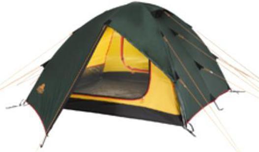 Палатка Alexika Rondo 29123.2101Трекинговая палатка RONDO 2 - удобная классическая модель стандартной формы, которую вы сможете установить за максимально короткий промежуток времени. Данная палатка устойчива и надежна, ее конструкция поддерживается при помощи легких, но достаточно прочных алюминиевых дуг, предотвращающих возможное провисание тента. Непромокаемое внешнее покрытие палатки производится из тентованного полотна Polyester, а дно выполняется из очень плотной прорезиненной ткани. Палатка RONDO 2 предназначена для комфортного отдыха двух туристов, хотя в ее внутреннем пространстве при необходимости без труда могут поместиться и три человека. Главное преимущество палатки RONDO 2 - наличие двух вместительных тамбуров, где туристы могут оставить свои рюкзаки. Данная модель также характеризуется двумя раздельными входами, чтобы туристы, покидающие палатку среди ночи, не потревожили сон друг друга. Еще одна особенность модели RONDO 2 - наличие удобной внутренней палатки из полупрозрачного желтого...