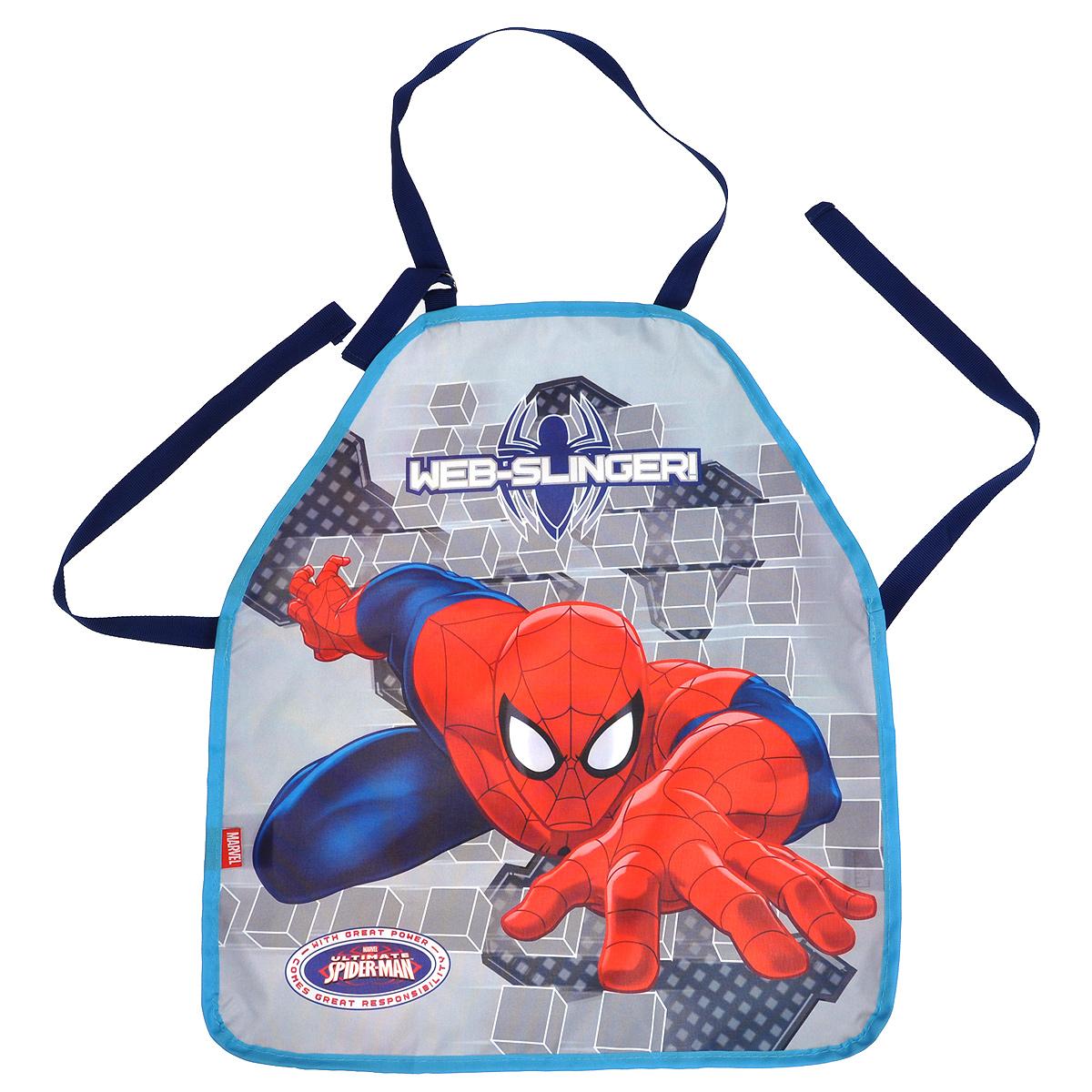 Фартук Размер 51 х 44 см. Spider-man Classic. Размер упаковки: 27 х 16,5 х 0,5 см.SMBB-UT2-029MДетский фартук – очень полезный аксессуар для занятий творчеством в детском саду и уроков труда в начальной школе. Практичные и красочные, они порадуют своих юных хозяев и их родителей.